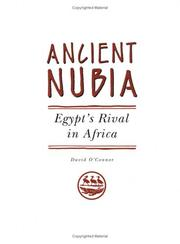 Cover of: Ancient Nubia by David B. O&#39;Connor