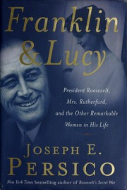 Cover of: Franklin and Lucy by Joseph E. Persico