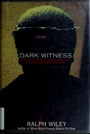 Cover of: Dark Witness by Ralph Wiley