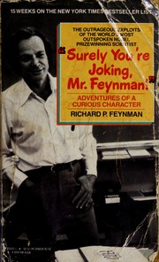 Cover of: Surely You're Joking, Mr. Feynman! by Richard Phillips Feynman