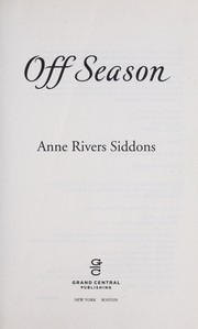 Cover of: Off Season by Anne Rivers Siddons