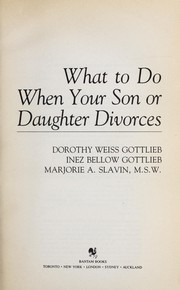 Cover of: What/when Your Son/ by Inez Gottlieb
