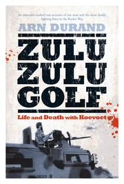 Cover of: Zulu Zulu Golf by Arn Durand