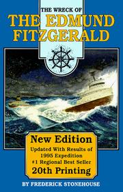 Cover of: The wreck of the Edmund Fitzgerald by Frederick Stonehouse