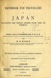 Cover of: A handbook for travellers in Japan by John Murray (Firm)