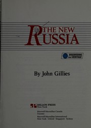 Cover of: The New Russia by Gillies, John