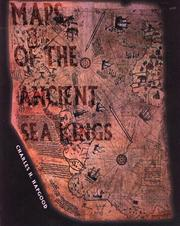 Cover of: Maps of the ancient sea kings by Charles H. Hapgood