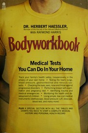 Cover of: Bodyworkbook by Herbert Haessler
