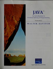 Cover of: Java by Walter J. Savitch