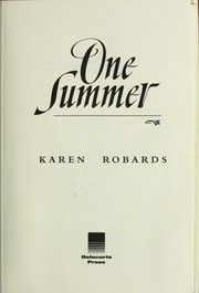 Cover of: One summer by Karen Robards