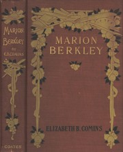 Cover of: Marion Berkley by Elizabeth Barker Comins