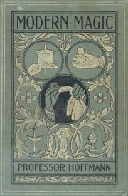 Cover of: Hoffmann's Modern magic by Hoffmann Professor