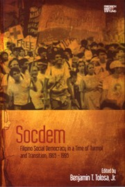 Cover of: Socdem by Benjamin T. Tolosa