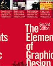 Cover of: The Elements of Graphic Design by Alex W. White
