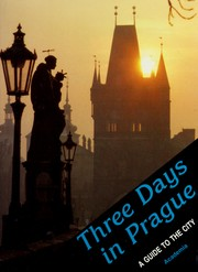 Cover of: Three days in Prague by Josef Janacek