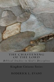 Cover of: The Chastening of the Lord by Roderick L. Evans