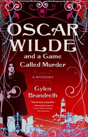 Cover of: Oscar Wilde and a Game Called Murder by Gyles Brandreth