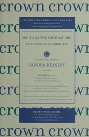 Cover of: Don't kill the birthday girl by Sandra Beasley