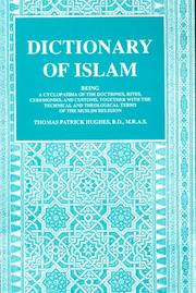 Cover of: Dictionary of Islam by Thomas Patrick Hughes