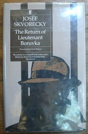 Cover of: The return of Lieutenant Boruvka by Josef kvoreck