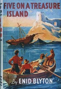 Five on treasure island by Enid Blyton