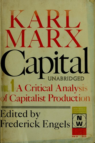 Das Kapital by Karl Marx