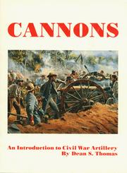 Cover of: Cannons by Dean S. Thomas