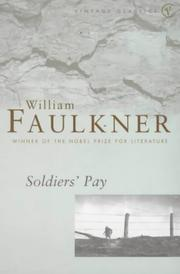 Cover of: Soldiers' pay by William Faulkner
