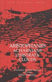 Cover of: Aristophanes by Aristophanes