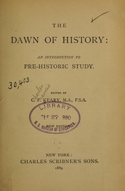 Cover of: The dawn of history by C. F. Keary