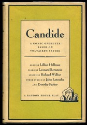 Cover of: Candide by Lillian Hellman