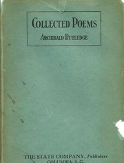 Cover of: Collected poems by Archibald Hamilton Rutledge