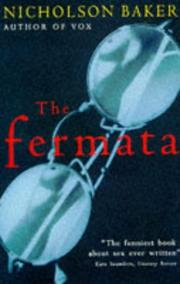 Cover of: The Fermata by Nicholson Baker