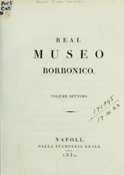 Cover of: Real Museo borbonico by Naples. Museo nazionale