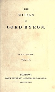 Cover of: Works by Lord Byron