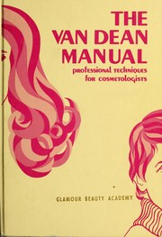 Cover of: The Van Dean manual by Dean Barrett