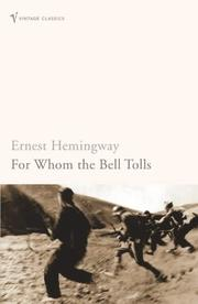 Cover of: For Whom the Bell Tolls by Ernest Hemingway