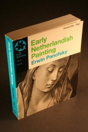 Cover of: Early Netherlandish Painting by Erwin Panofsky