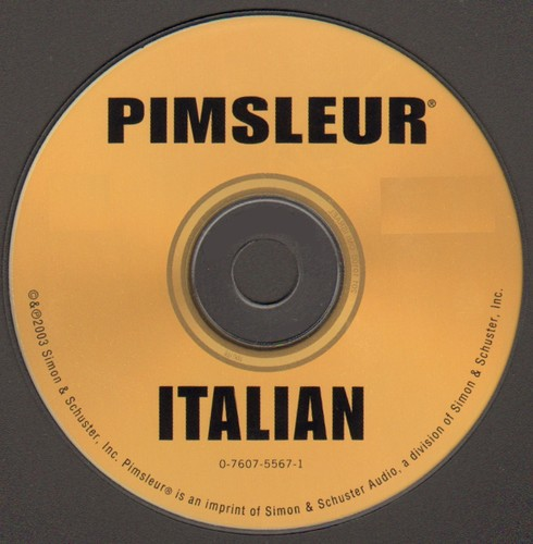 Pimsleur Instant Conversation Italian [sound recording] by Pimsleur Language Method