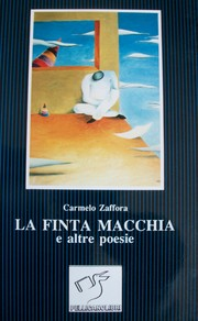 Cover of: LA FINTA MACCHIA by Carmelo Zaffora