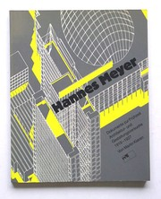 Cover of: Hannes Meyer by Martin Kieren