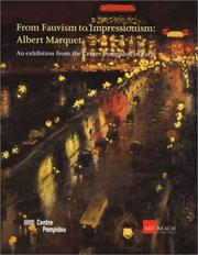 Cover of: From Fauvism to Impressionism by Albert Marquet