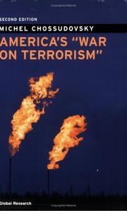 Cover of: America&#39;s &quot;War on Terrorism&quot; by Michel Chossudovsky