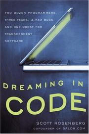 Cover of: Dreaming in Code by Scott Rosenberg