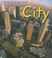 Cover of: City (Neighborhood Walk) by Peggy Pancella