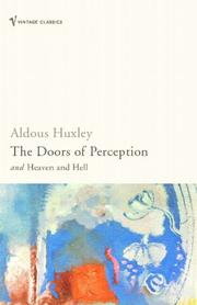 Cover of: Doors of Perception by Aldous Huxley