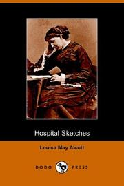 Cover of: Hospital Sketches by Louisa May Alcott