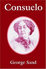 Cover of: Consuelo by George Sand