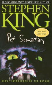 Cover of: Pet sematary by Stephen King