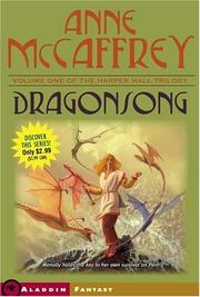 Cover of: Dragonsong by Anne McCaffrey